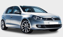Car Hire - VW Golf TDi