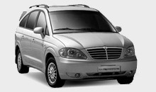 Car Hire - Ssangyong Rodius