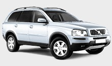 Car Hire - Volvo XC90
