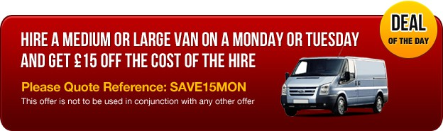 Van Hire Deal